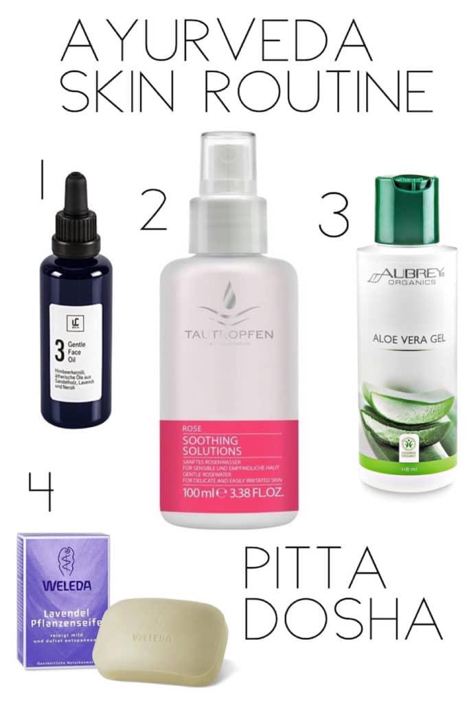 Die Beauty Routine für Pitta Dosha: Kühlend und befeuchtend