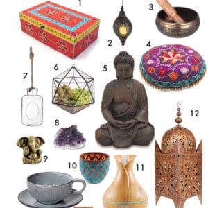 So kannst du dir deinen Meditationsraum schön einrichten #yoga #meditation