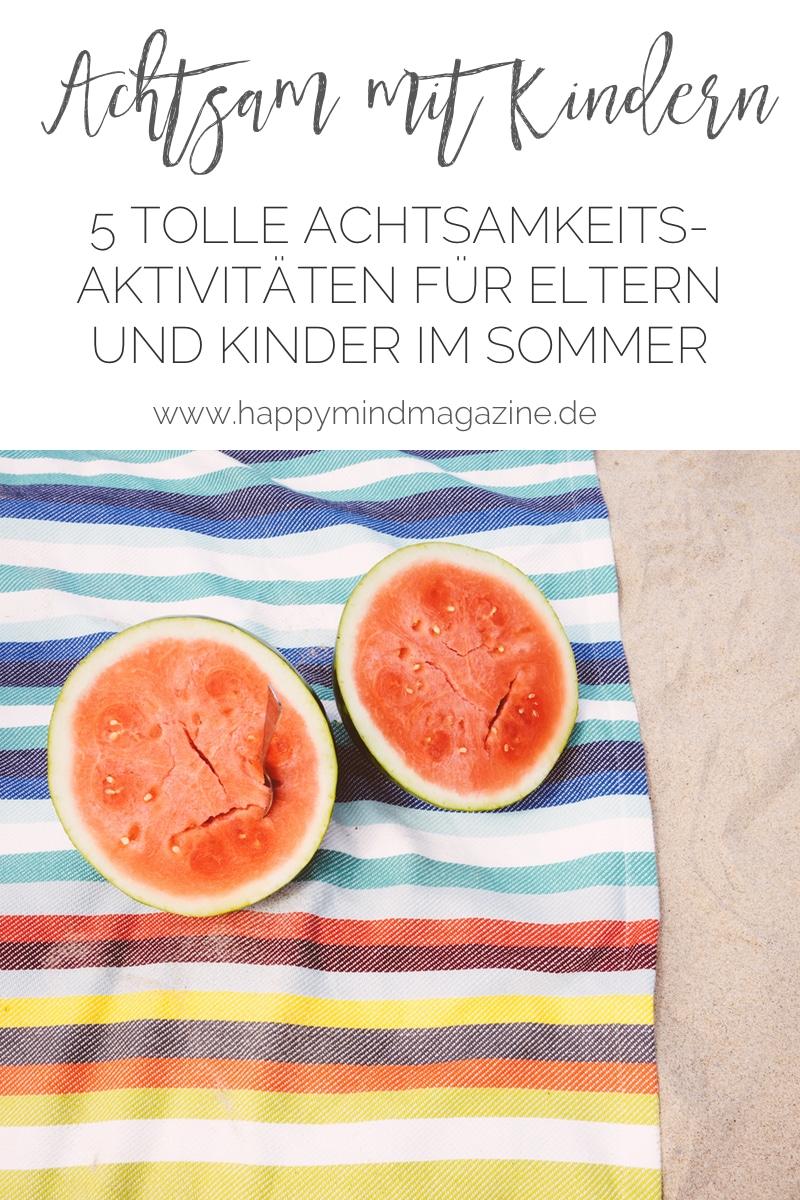 Aktivitäten mit Kind im Sommer