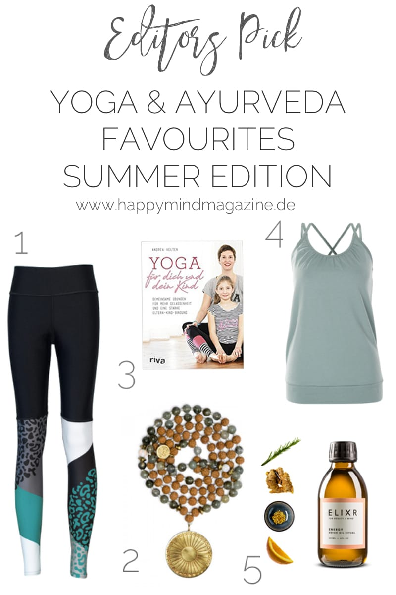 Yoga Lieblinge --> Leggings, Tops, Malas #yogakleidung