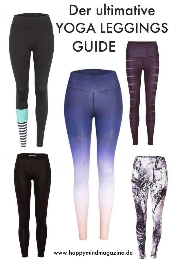 Du suchst die perfekte Yoga Leggings? Hier kommen meine Favoriten