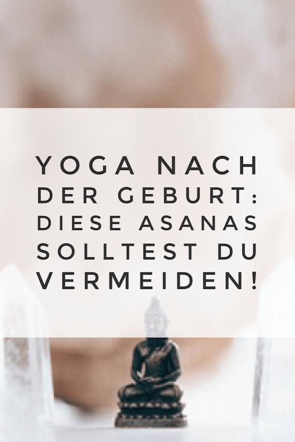 Diese Yogaübungen solltest du nach der Geburt vermeiden