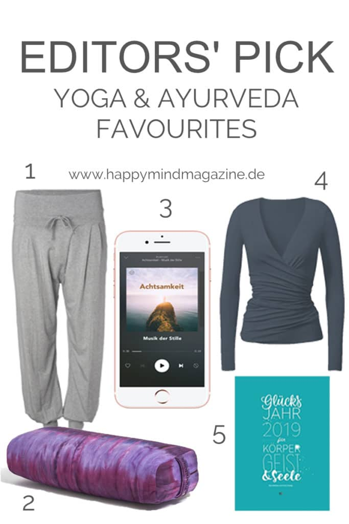 Unsere Yoga & Ayurveda Favourites für den Herbst 2018 <3