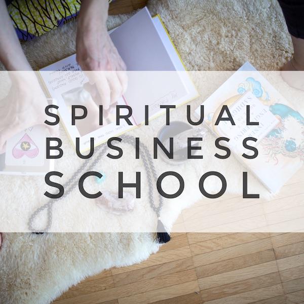 Spiritual Business School - der Online Kurs für Arbeiten mit Heart, Mind & Soul