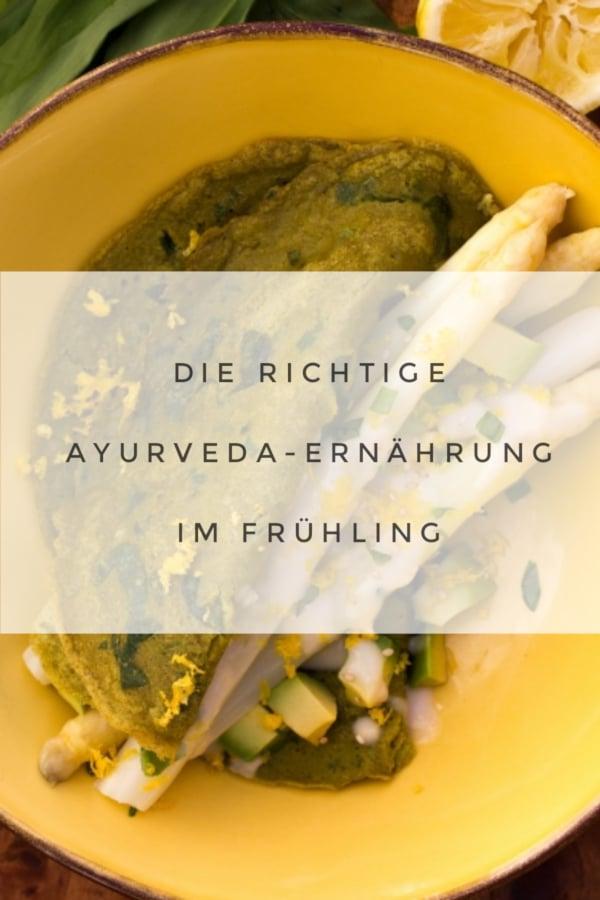 Ayurveda für den Frühling!