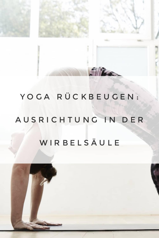 Die richtige Yoga-Rückenbeuge!