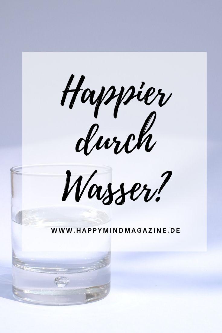 Happier durch Wasser?