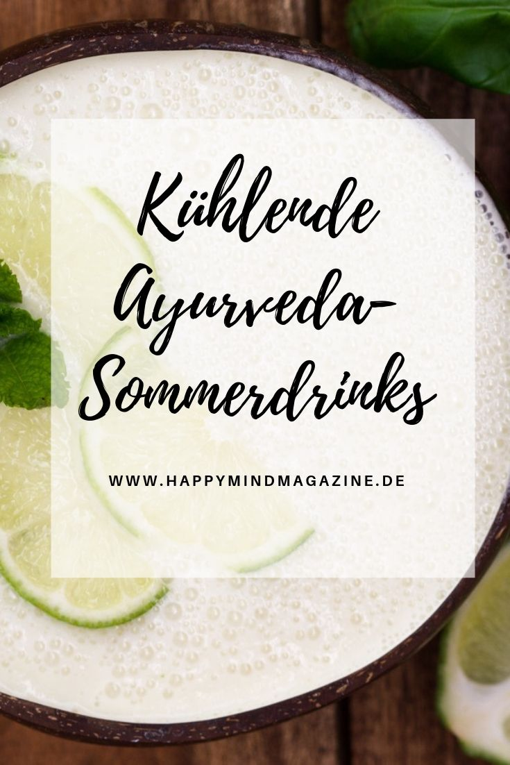 Kühlende Ayurveda-Sommerdrinks