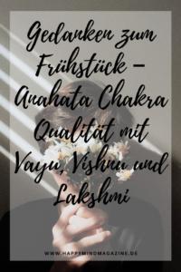 Anahata Chakra Qualität mit Vayu, Vishnu und Lakshmi